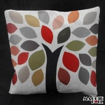 NEW Vintage Cotton Linen Cushion Cover Home Decor Decorative pillow 3 color[Tree]